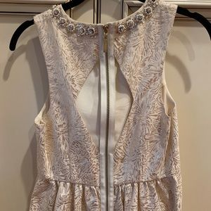 Cooperative Dresses - UO Metallic Tapestry Fit Flare Dress, 4